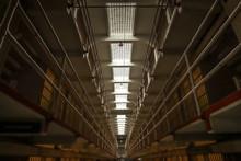 Alcatraz Prison Ceiling In San Francisco, California, USA