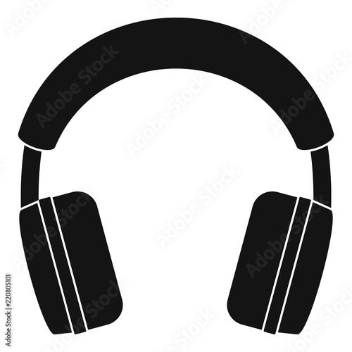 Fotografía  Stereo headphones icon