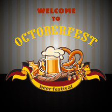 Welcome To Octoberfest Concept...