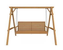 Wooden Garden Swing Seat Isola...