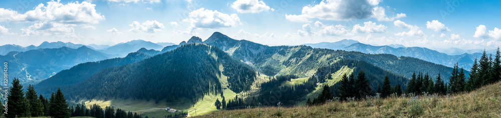 Fototapety, obrazy: view from setzberg mountain