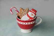 Christmas Cookies In Cup