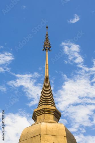 Foto  Wat Phra That Hariphunchai,  Amphoe Mueang Lamphun,  Lamphun, Thailand, 11 - Aug
