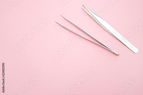 Fotografía  tools for Eyelash Extension Procedure