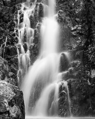 Fototapeta Krajobraz Black and White Falls