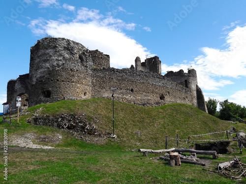 Keuken foto achterwand Kasteel Castle, ruins, Jasenov, Slovakia
