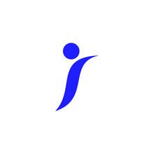People Letter I Logo.