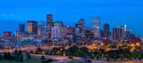 Panorama downtown Denver