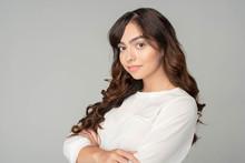 Young Hispanic Businesswoman