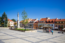 Town Square Of Sandomierz, Poland