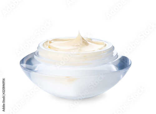 Fotografie, Obraz  Jar with hand cream on white background