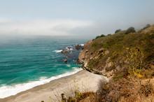 Rocky Fog Shrouded Calfornia C...