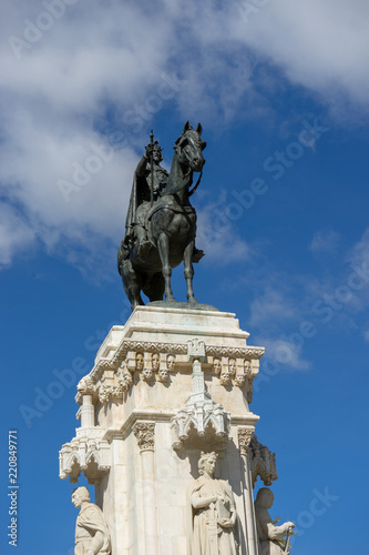 Fotografía  Estatua del Parque de María Luisa, Sevilla, España