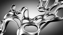 Abstract Shape Background. 3d ...