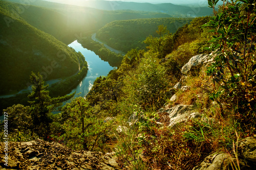 Mount Tammany Delaware Water Gap Canvas Print