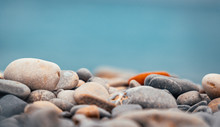 Close Up Of Pebble And Stone R...