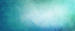 Leinwandbild Motiv blue green and white watercolor background with abstract cloudy sky concept with color splash design and fringe bleed stains and blobs