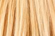 Silk blonde hair