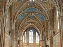 Assisi - Interno Della Basilica Di San Francesco Superiore