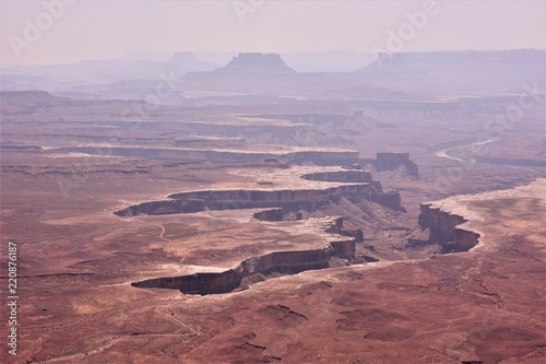 Foto op Aluminium Purper Travel to Canyonlands National Park