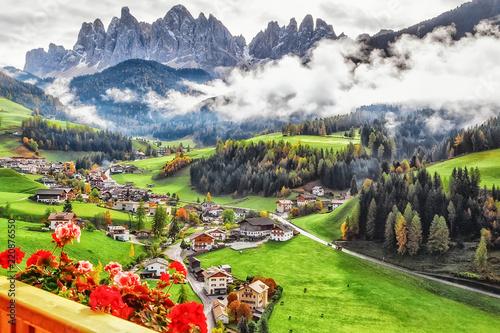 Italy, Dolomite mountains Fototapet