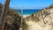 Frankreich: Dünen am Atlantik, Strandzugang