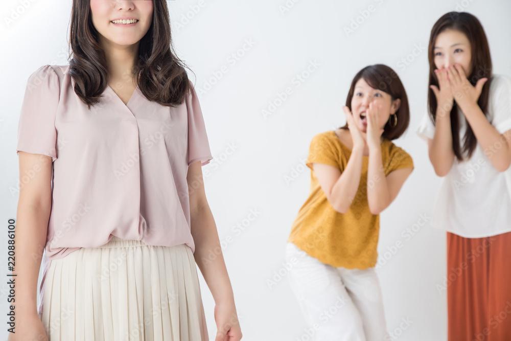 Fototapeta 憧れの女性