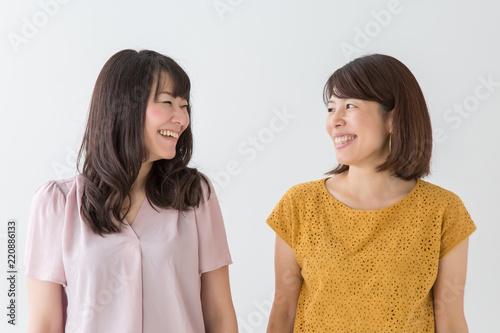 Fényképezés  笑顔の女性