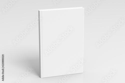Verical blank book cover mockup Billede på lærred