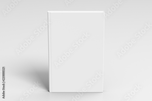 Fotografie, Obraz  Verical blank book cover mockup