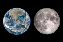 Planet Earth Day And The Moon....