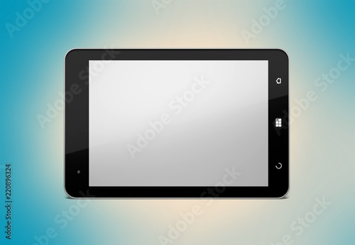 Fotografia  Digital tablet.