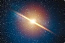 Galaxy Explosion Big Bang Of Star Universe Illustration Concept