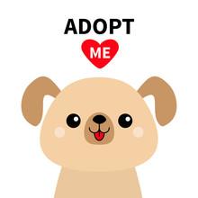 Adopt Me. Cute Dog Face Silhou...