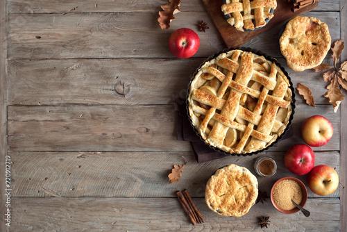 Apple Pies Canvas Print