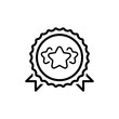 Leinwandbild Motiv Best Choice Line Icon.