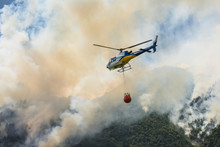Aerial Firefighting With Helic...