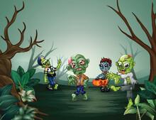 Little Cartoon Zombies Are Frightening