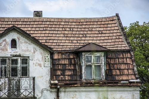 Fototapeta Stary dom dach obraz