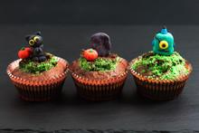 Halloween Holiday Food Colorfu...