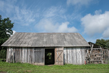 Old Shed In Beautiful Countrys...
