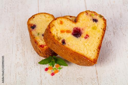 Tablou Canvas Tasty sponge cake