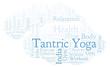 Tantric Yoga word cloud.