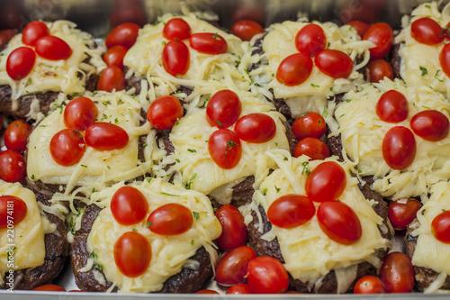 Cadres-photo bureau Fruits Food Hamburger