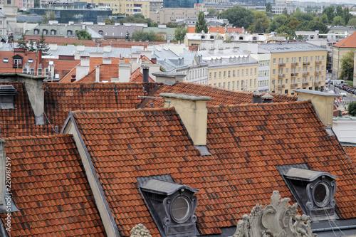 Deurstickers Centraal Europa Varsovia