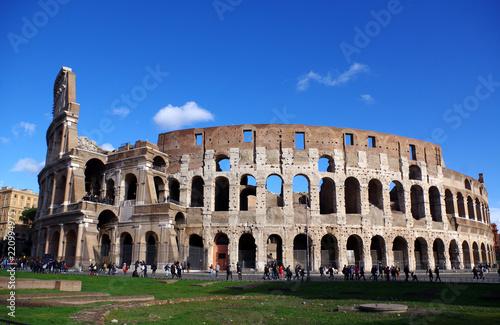 Photographie Le Colisée a Rome