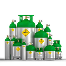 Oxygen Cylinder Container