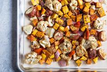 Fall Seasonal Roasted Vegetables