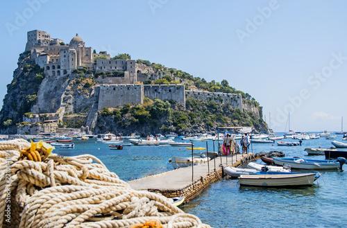 Fotografía Ancient castle near Ischia island