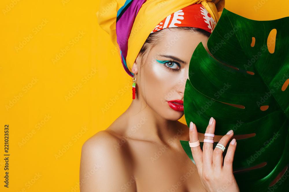 Fototapeta colorful make up concept